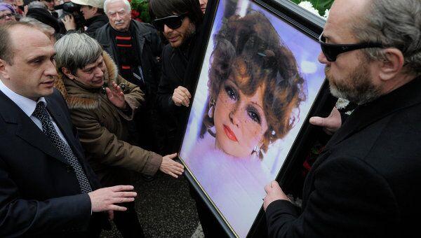 Прощание с актрисой Людмилой Гурченко в Центральном Доме литераторов в Москве