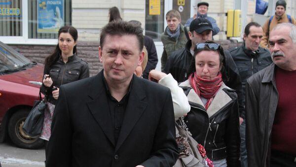 Экс-майор Управления Госохраны Украины Николай Мельниченко. Архив