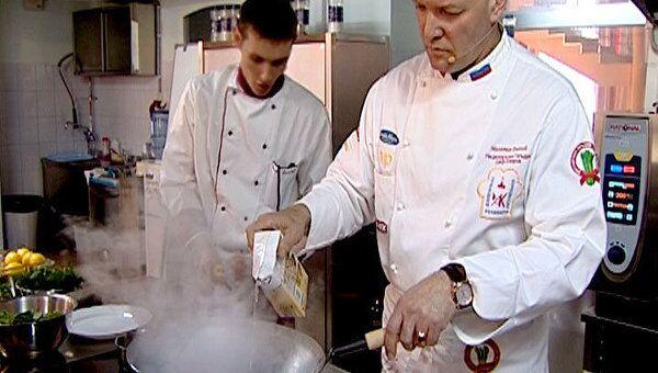 Для приемов в Кремле все чаще заказывают диетические блюда - шеф-повар