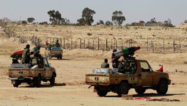 Ливийские повстанцы