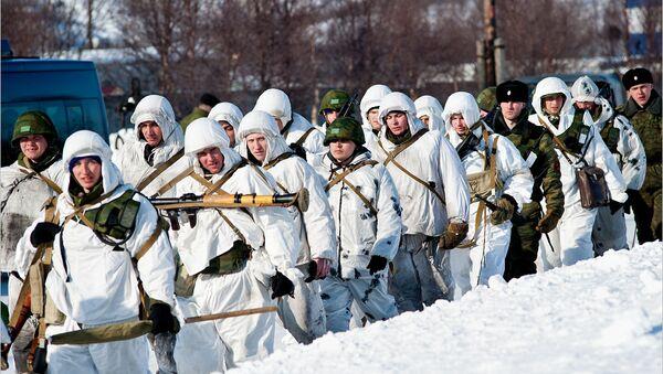 Военнослужащие в Заполярье