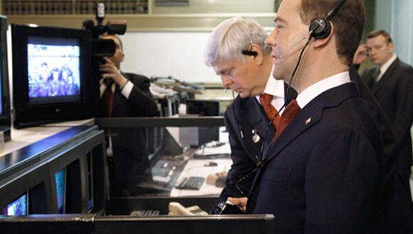 Экипаж МКС рассказал Медведеву, как на орбите отметят День космонавтики