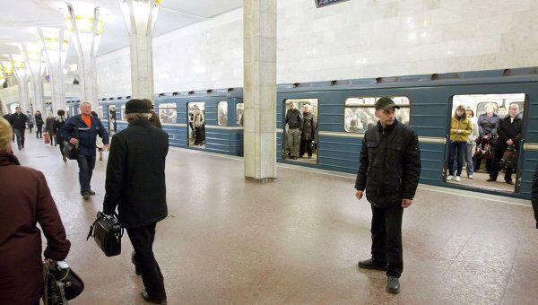 Станция Октябрьская открыта после взрыва в минском метро
