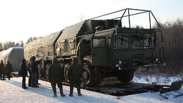 Ракетный комплекс «Ярс» в Тейковском ракетном соединении. Архив