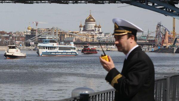 Пассажирская навигация на Москве-реке. Архив