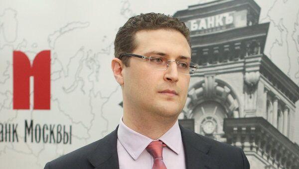 Акционер Банка Москвы Виталий Юсуфов. Архив