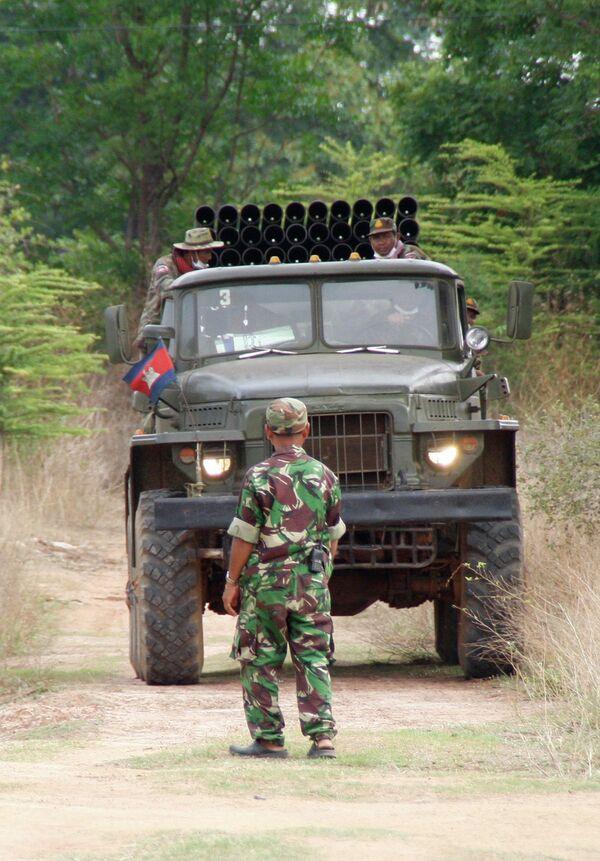 Перестрелка на границе Таиланда и Камбоджи