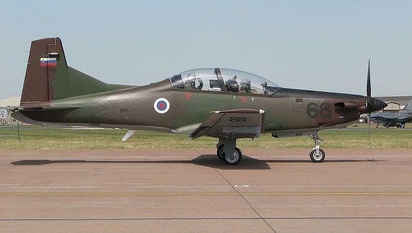 Pilatus PC-9 словенских ВВС. Архивное фото