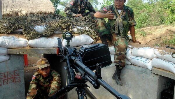 Военные столкновения на границе Таилаида и Камбоджи возле храма Преа Вихеар