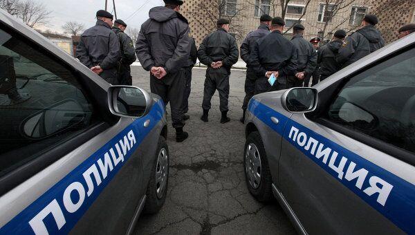 Работа патрульно-постовой службы УВД по городу Владивостоку