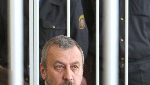 Суд над бывшим кандидатом в президенты Белоруссии А.Санниковым