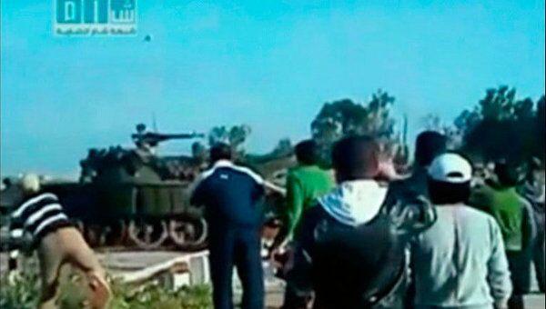 Ситуация в сирийском городе Дераа