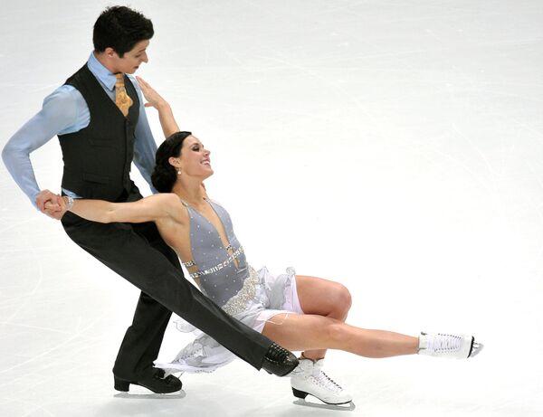 Тесса Верчу и Скотт Мойр