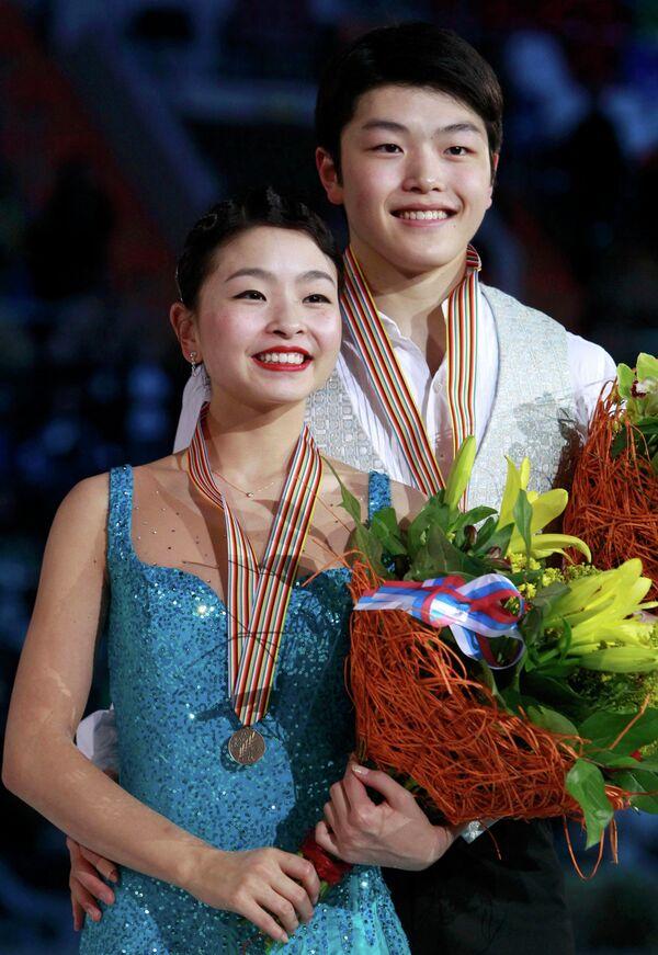 Алекс и Майя Шибутани