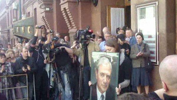 В Москве проводили в последний путь легендарного Александра Лазарева