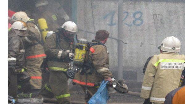 Пожар в жилом доме в Самаре
