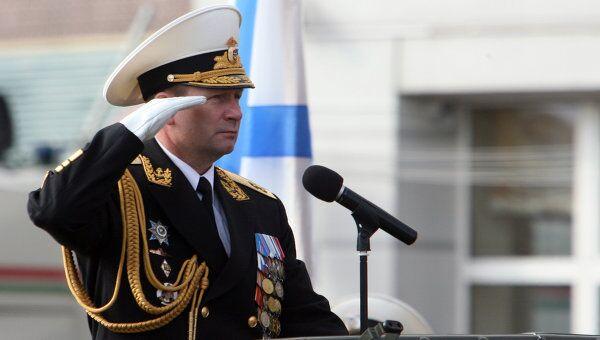 Вице-адмирал Виктор Чирков. Архив