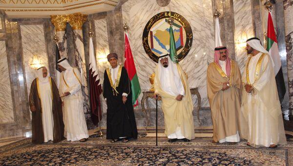 Арабские монархи Персидского залива. Архивное фото