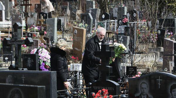 Митинское кладбище. Архивное фото