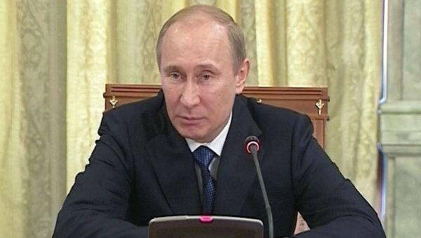 Путин рассказал активу ОНФ, что Медведев поддержал создание объединения