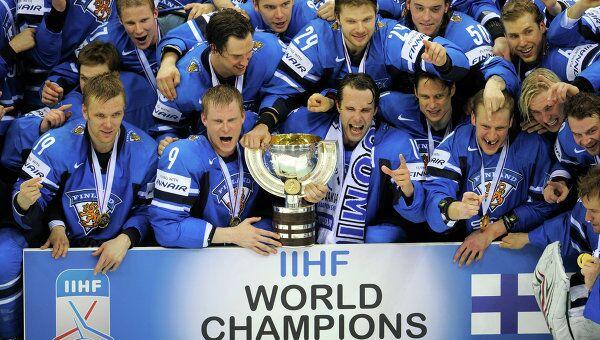 Хоккей. Чемпионат мира. Финальный матч Швеция - Финляндия 1:6