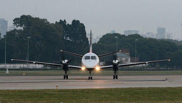 Самолет Saab 340 авиакомпании Sol. Архив