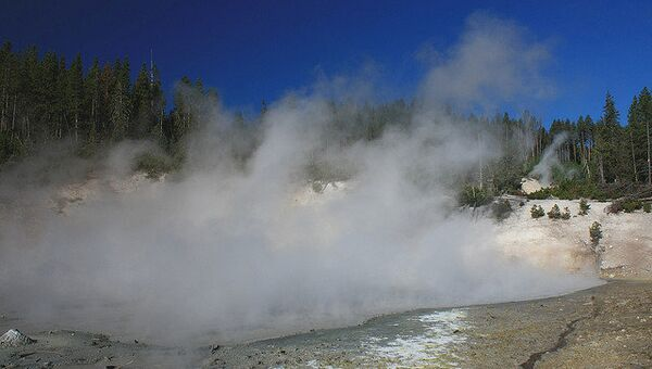 Йеллоустонский вулкан