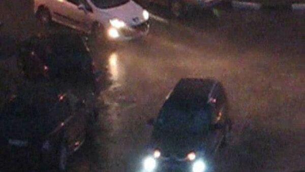 Из-за сильного ливня улицы Краснодара затопило