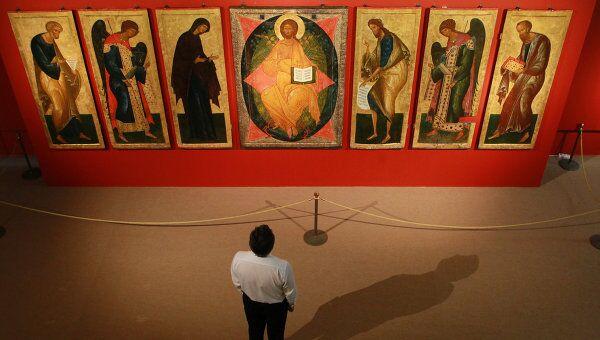 Открытие выставки Святая Русь