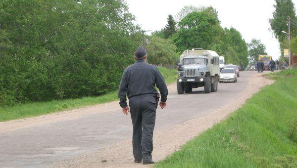 Освобождение заложников в колонии в Псковской области