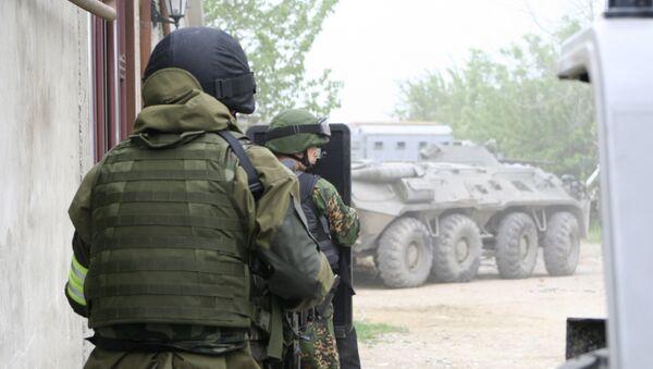 Спецоперация в Кизилюртовском районе Дагестана. Архив