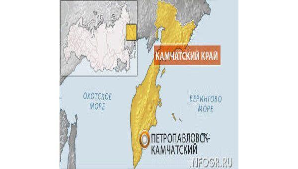 Петропавловск-Камчатский. Карта