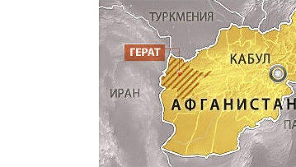 Трое итальянских военных погибли в результате ДТП в провинции Герат в Афганистане