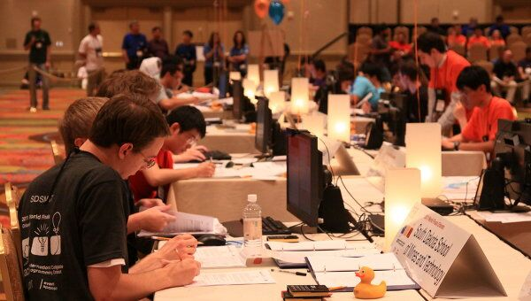 Чемпионат мира по программированию в США