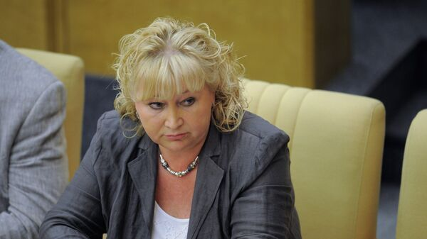 Депутат фракции Справедливая Россия Елена Вторыгина