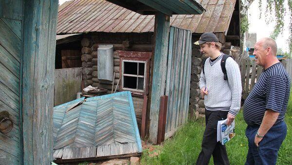 Жители села Пугачево вернулись в свои дома