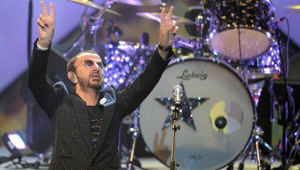 Концерт экс-барабанщика The Beatles Ринго Старра. Архивное фото