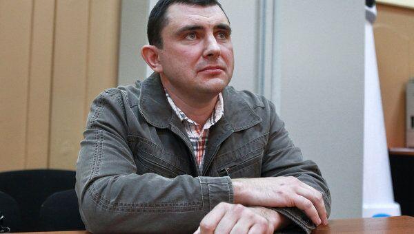 Рассмотрение ходатайства следствия о заключении под стражу прокурора подмосковного города Озеры Анатолия Дрока
