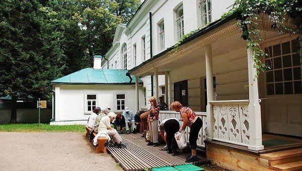 Музей-усадьба Ясная поляна. Дом Л. Н. Толстого