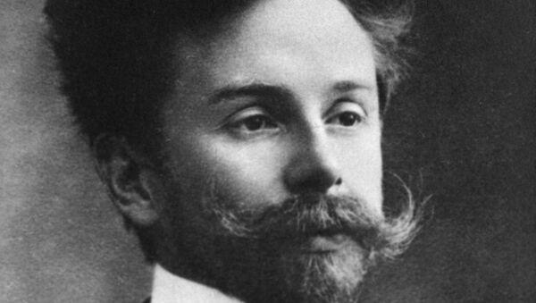 Русский композитор Александр Скрябин. Архивное фото