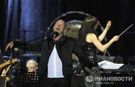 Концерт музыканта Стинга в рамках тура Symphonicity