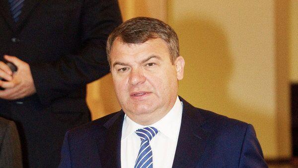 Министр обороны РФ Анатолий Сердюков. Архив