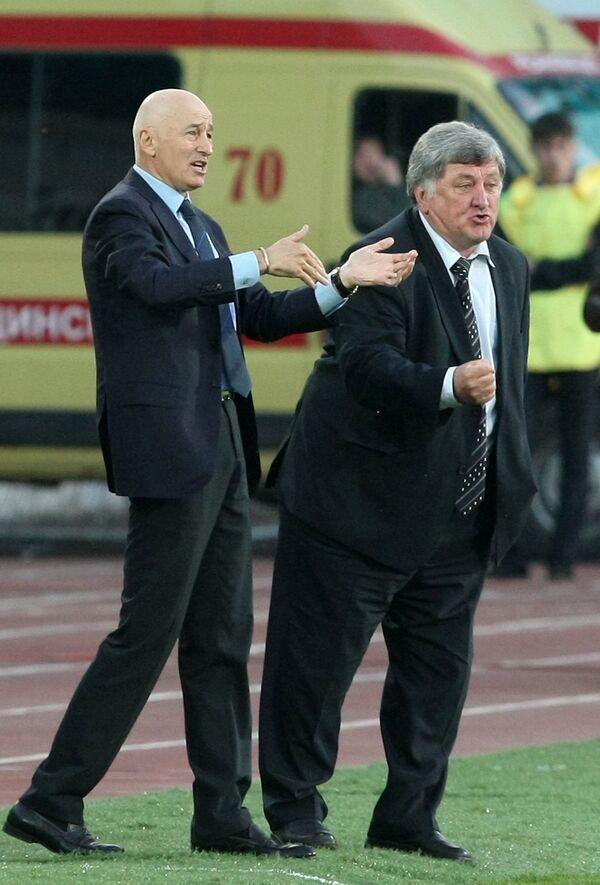Славолюб Муслин и Нурбий Хакунов (слева направо)