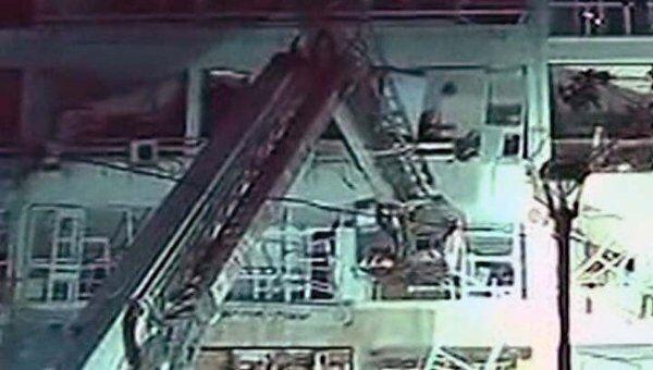 Взрыв в жилом доме в Израиле. Видео с места ЧП