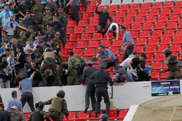 Беспорядки болельщиков Зенита