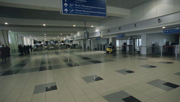 Зал вылета в аэропорту. Архивное фото