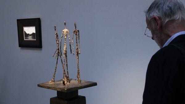 Творчество Альберто Джакометти, архивное фото