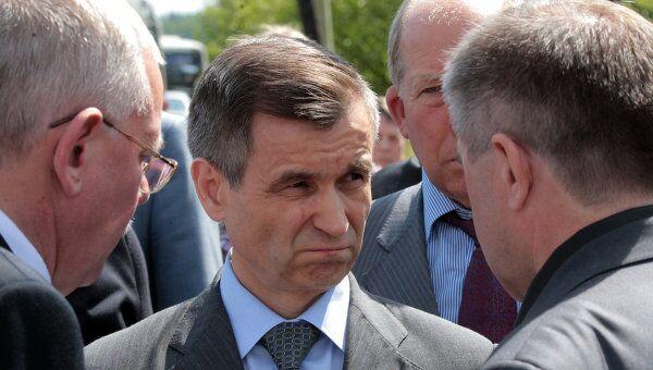 Рашид Нургалиев почтил память жертв авиакатастрофы в Петрозаводске