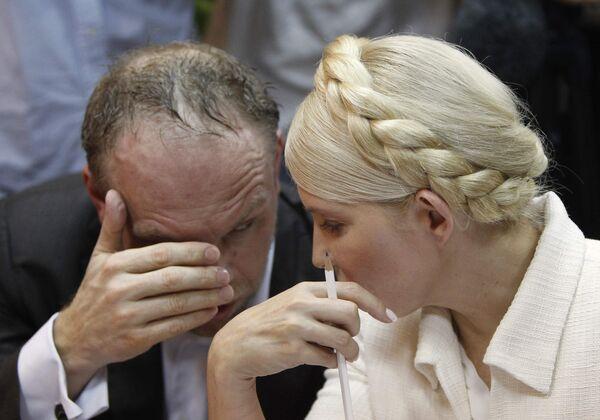 Рассмотрение газового уголовного дела в отношении экс-премьера Украины Юлии Тимошенко в Печерском районном суде Киева