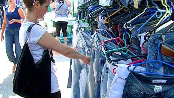 Последний день торговли в Лужниках превратился в большую распродажу